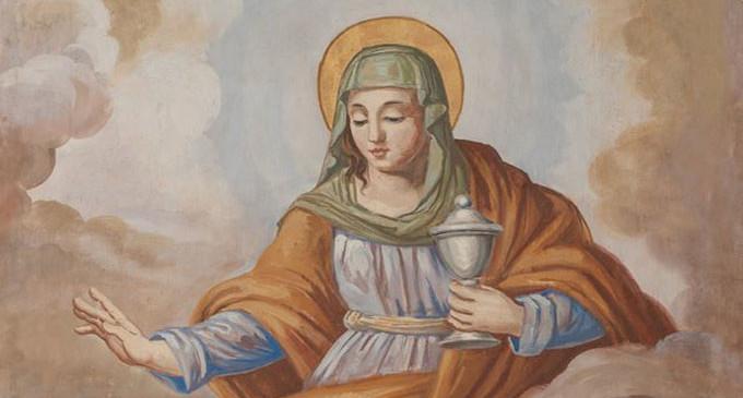 """Santa Maria Salomè e l'Acqua della """"Dimostrazione""""."""