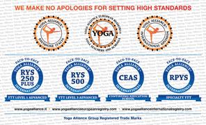 Yoga alliance logos